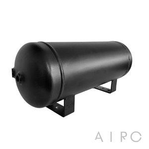 Lufttank Aluminium schwarz